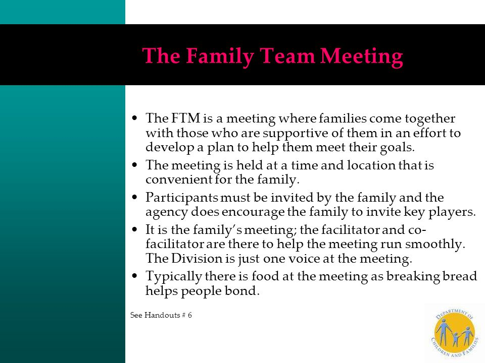 The Family Team Meeting