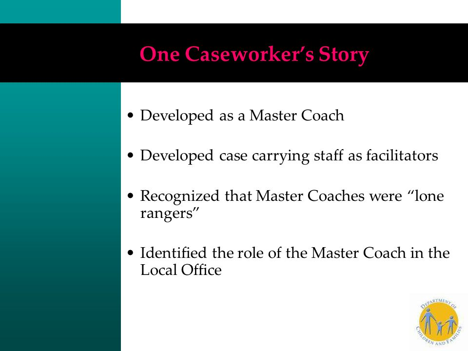 One Caseworker's Story