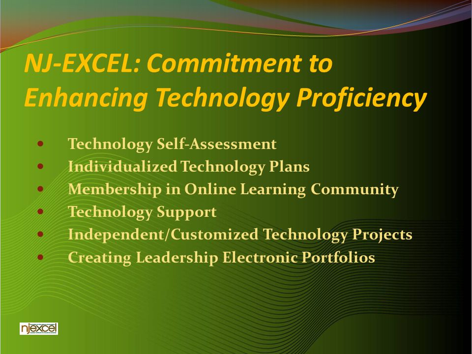 NJ-EXCEL: Commitment to Enhancing Technology Proficiency