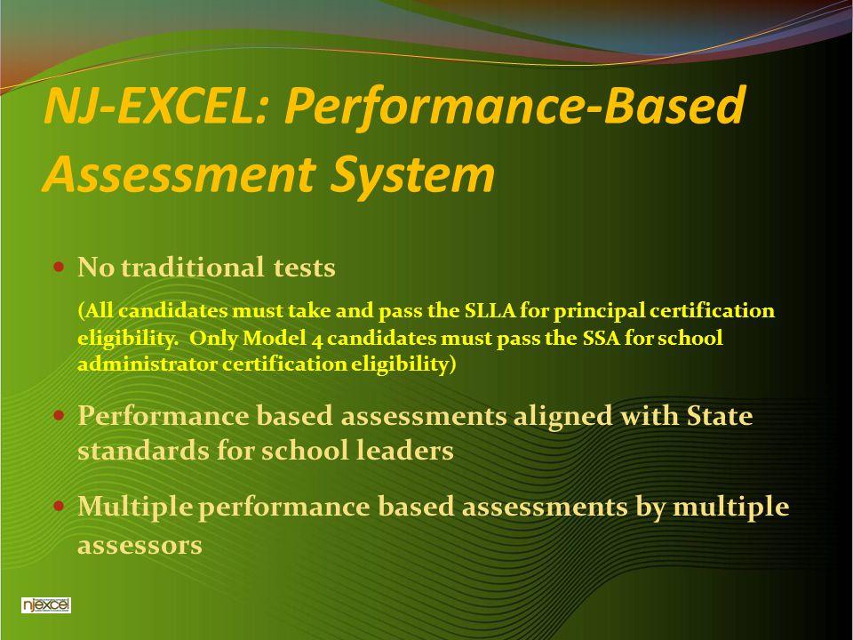 NJ-EXCEL: Performance-Based Assessment System