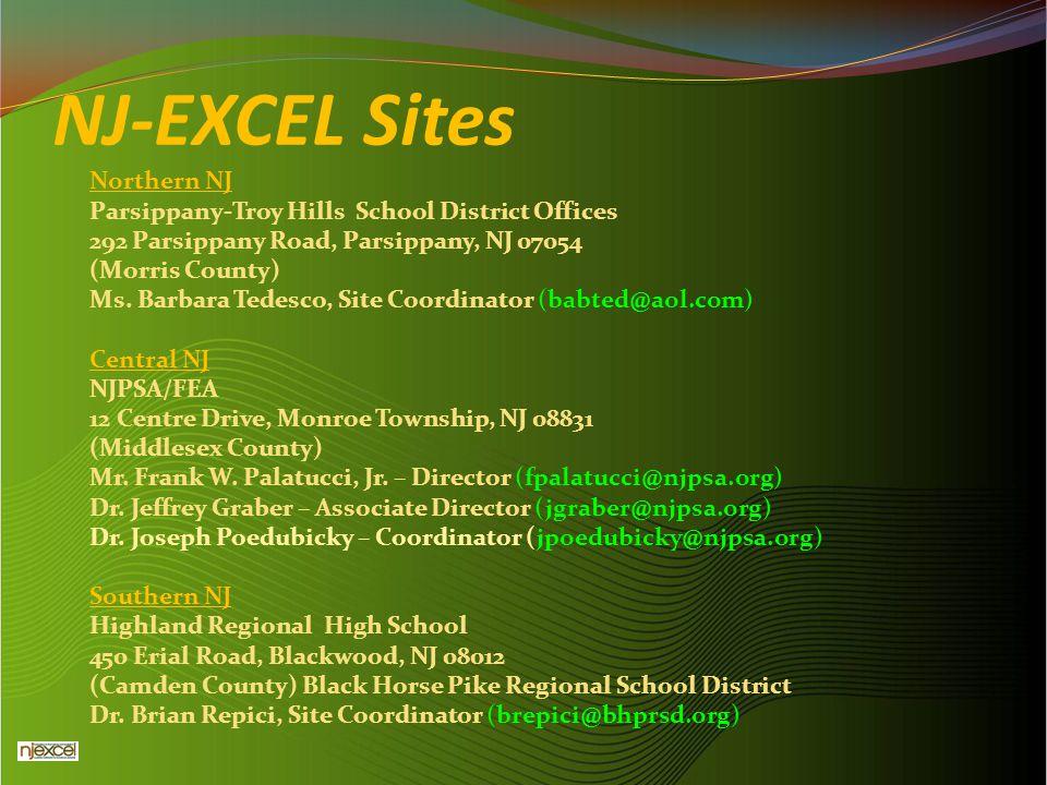NJ-EXCEL Sites