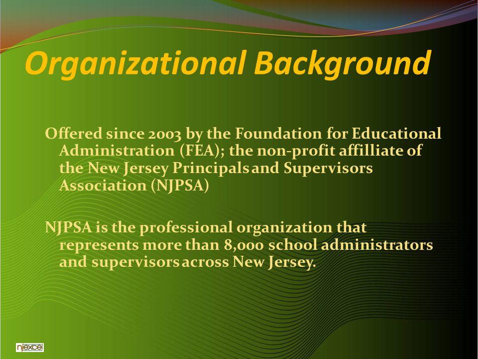 Organizational Background
