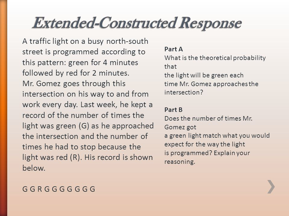 Extended-Constructed Response