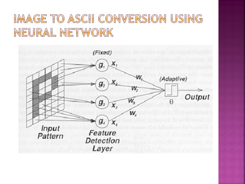 Image to ASCII Conversion using Neural Network
