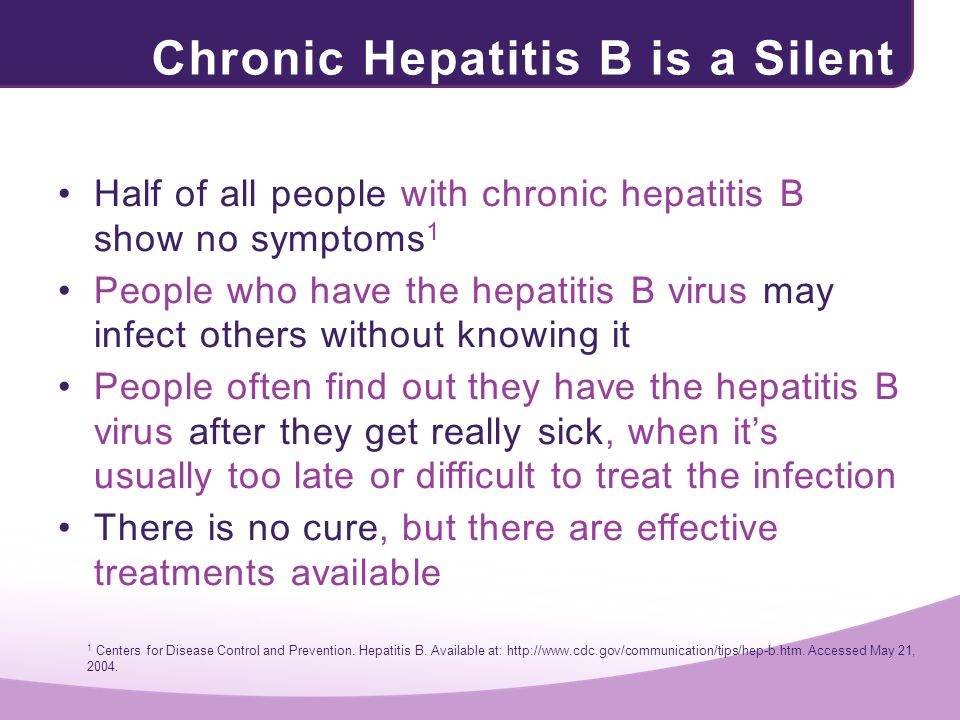Chronic Hepatitis B is a Silent Threat