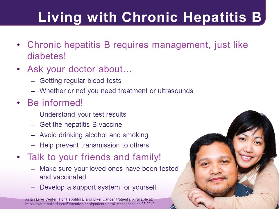 Living with Chronic Hepatitis B