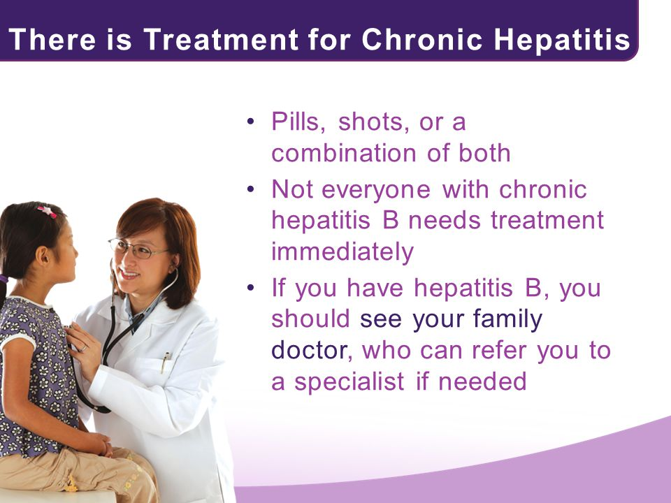 There is Treatment for Chronic Hepatitis B!