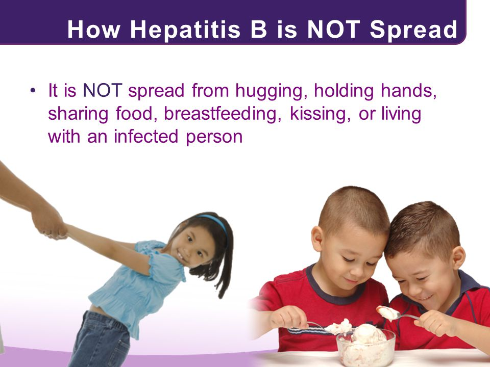 How Hepatitis B is NOT Spread
