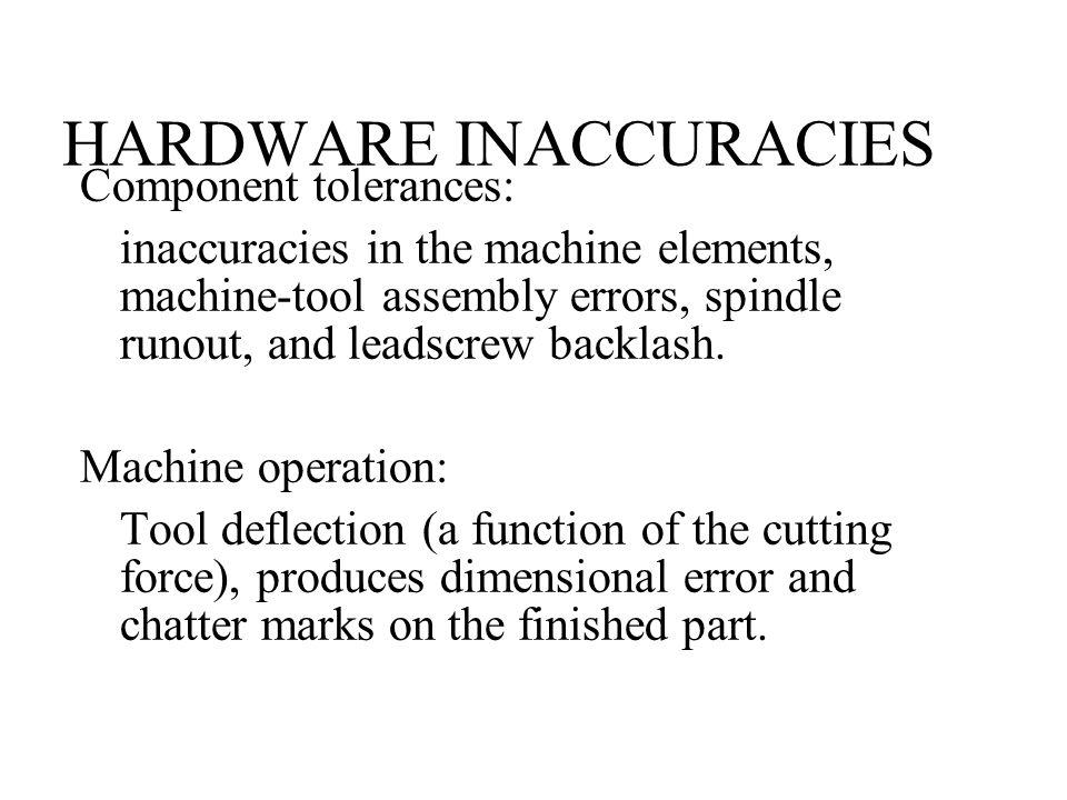 HARDWARE INACCURACIES