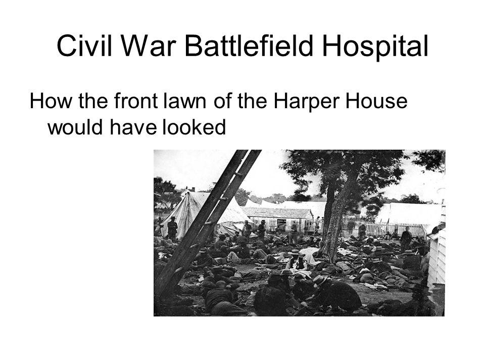 Civil War Battlefield Hospital