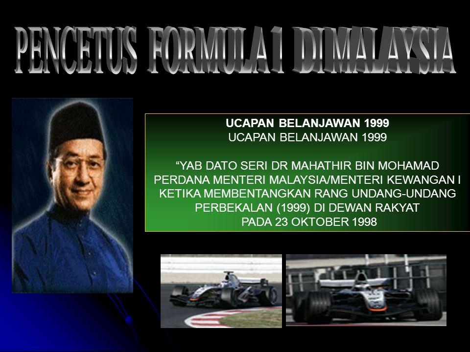 PENCETUS FORMULA 1 DI MALAYSIA