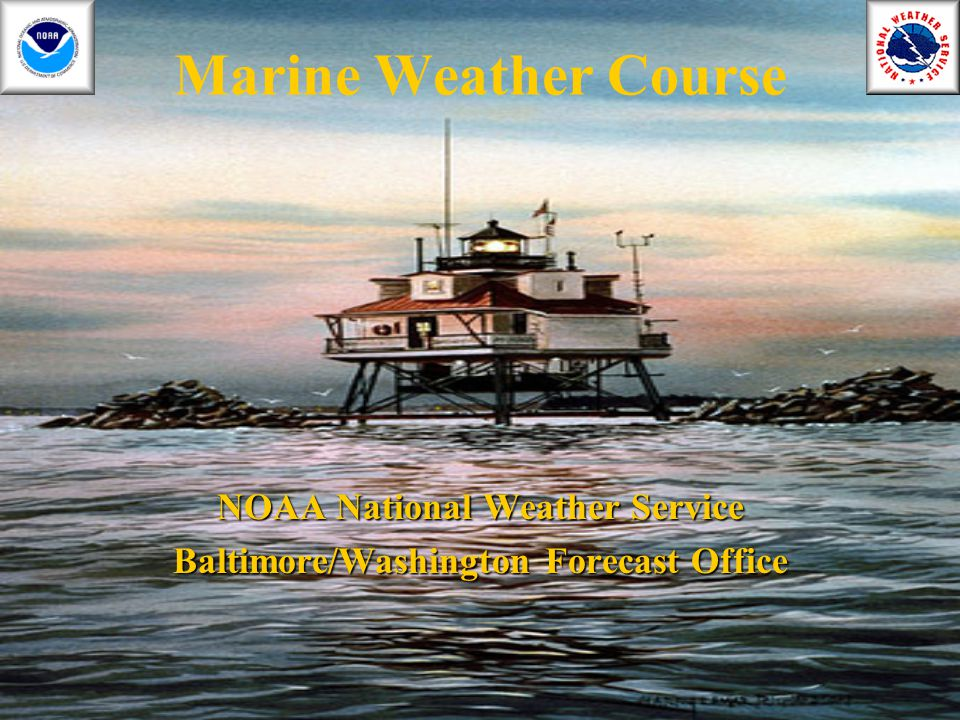NOAA National Weather Service Baltimore/Washington Forecast Office