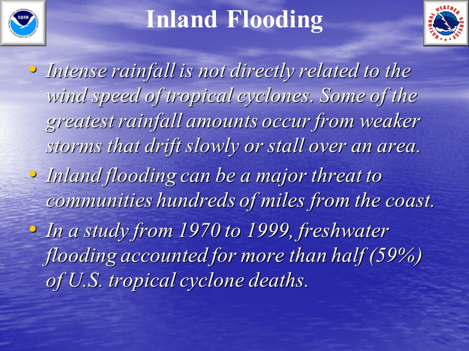 Inland Flooding