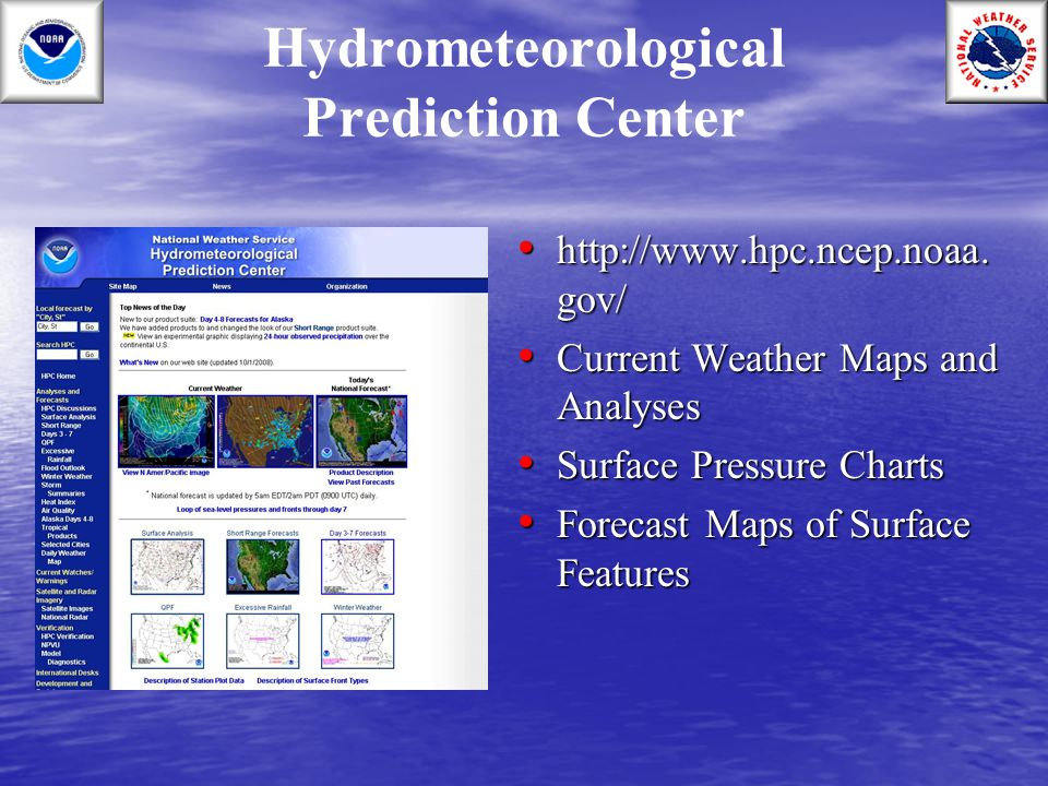 Hydrometeorological Prediction Center