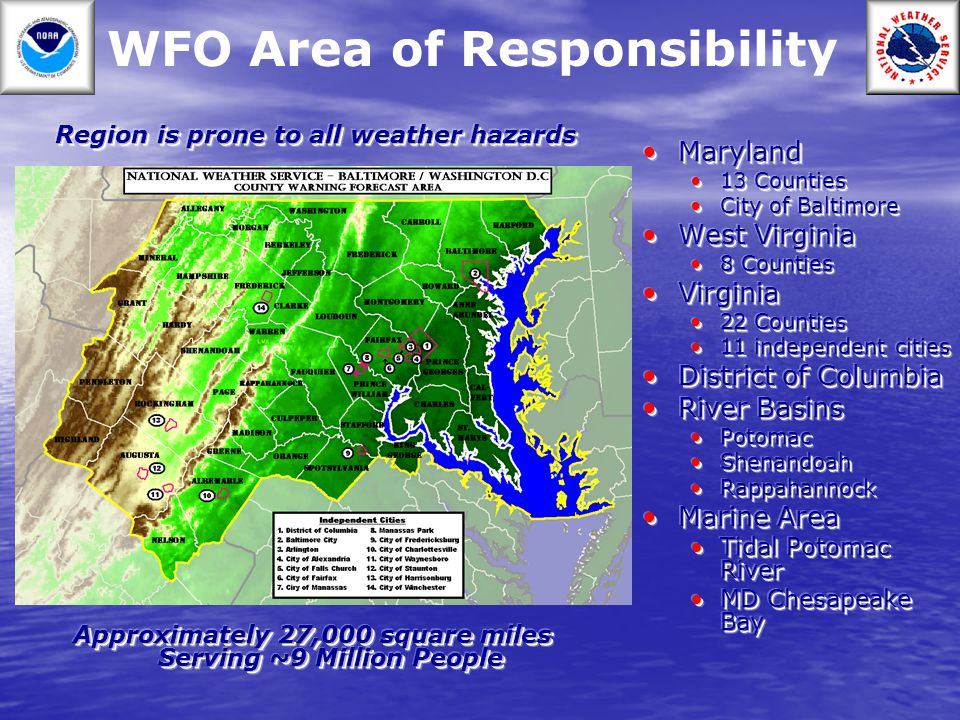 WFO Area of Responsibility