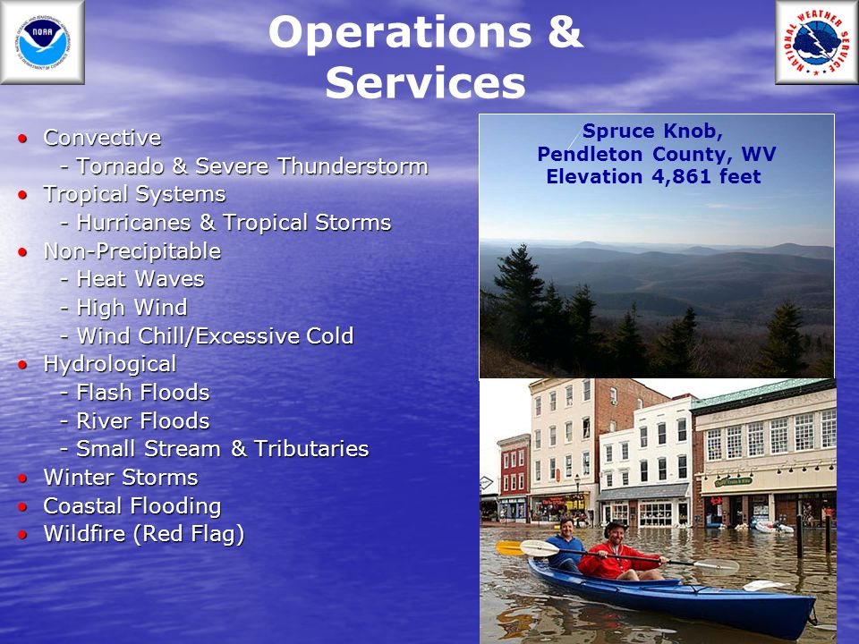 Operations & Services Convective - Tornado & Severe Thunderstorm