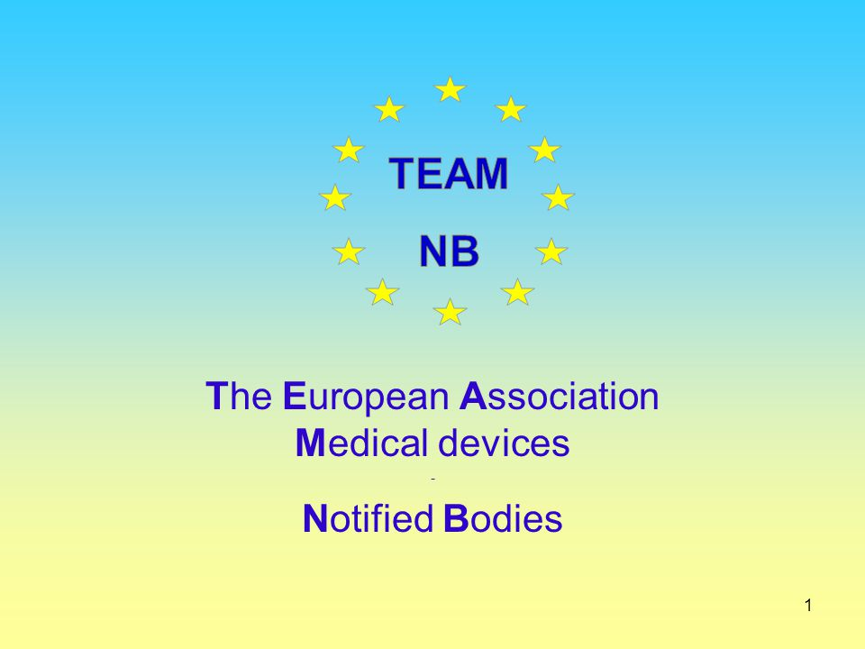 The European Association Medical devices - Notified Bodies
