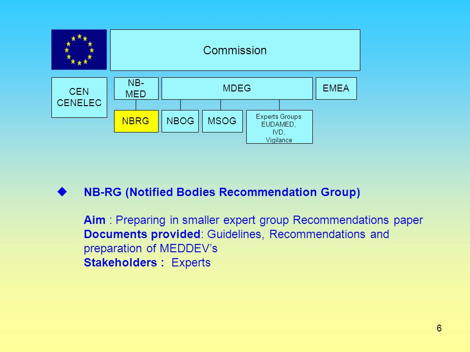 NB-RG (Notified Bodies Recommendation Group)