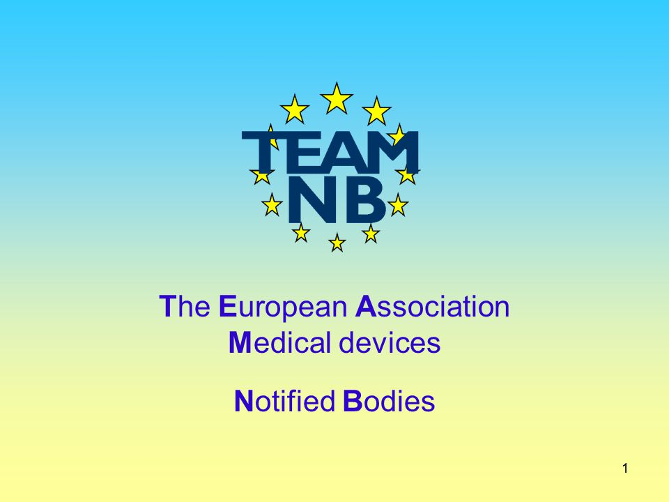 The European Association Medical devices