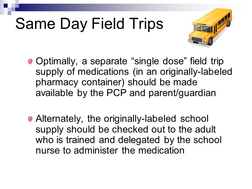 Same Day Field Trips