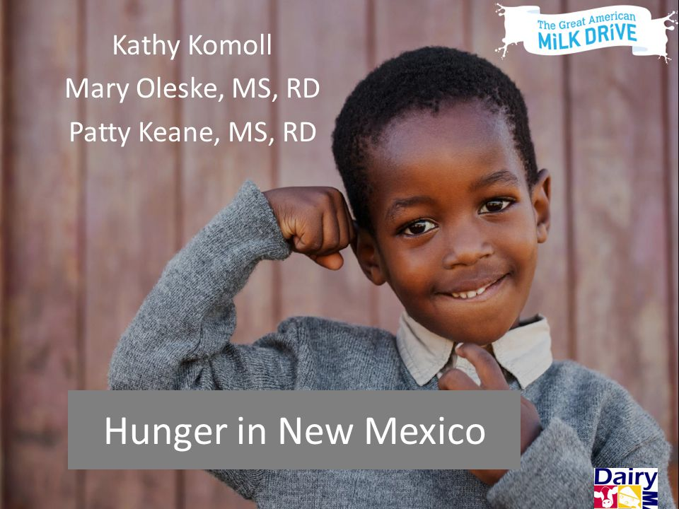 Hunger in New Mexico Hunger in New Mexico Kathy Komoll