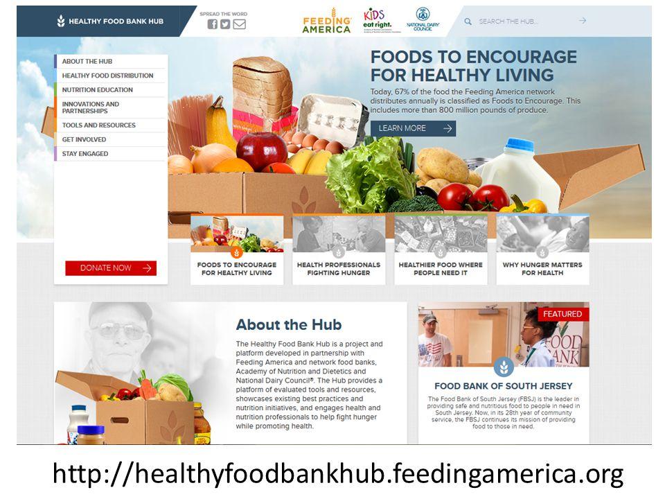 http://healthyfoodbankhub.feedingamerica.org