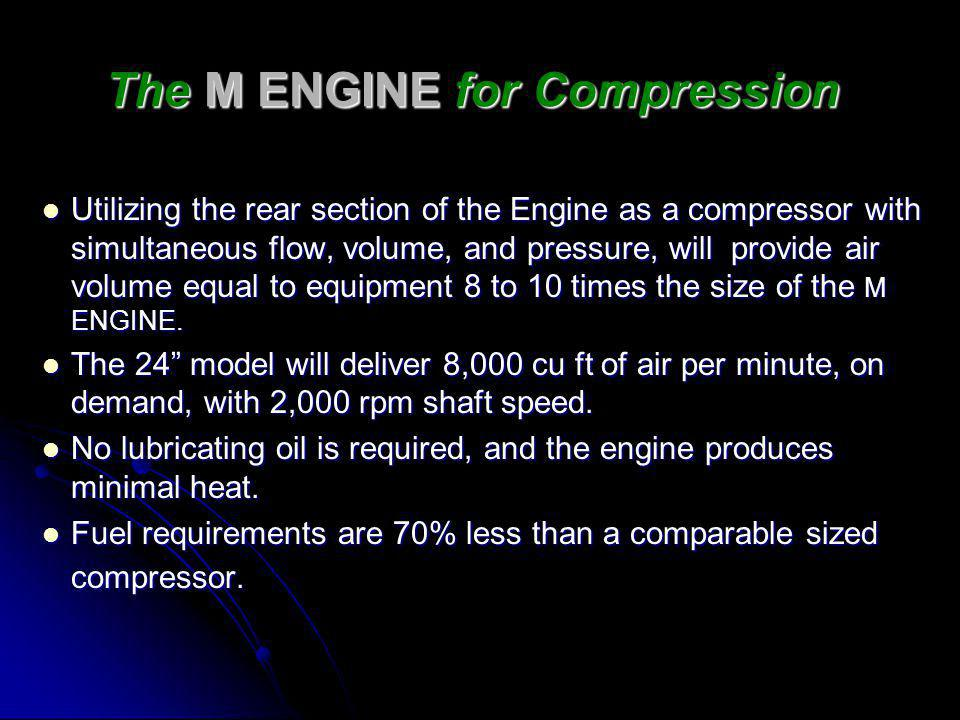 The M ENGINE for Compression