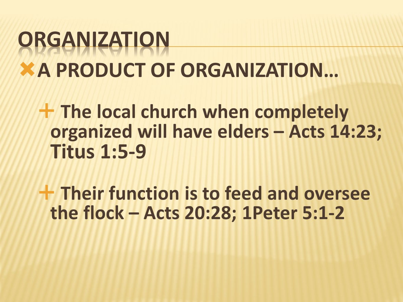 organization A PRODUCT OF ORGANIZATION…