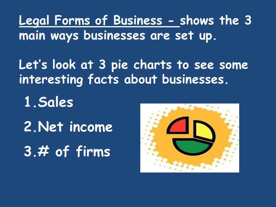 Sales Net income # of firms