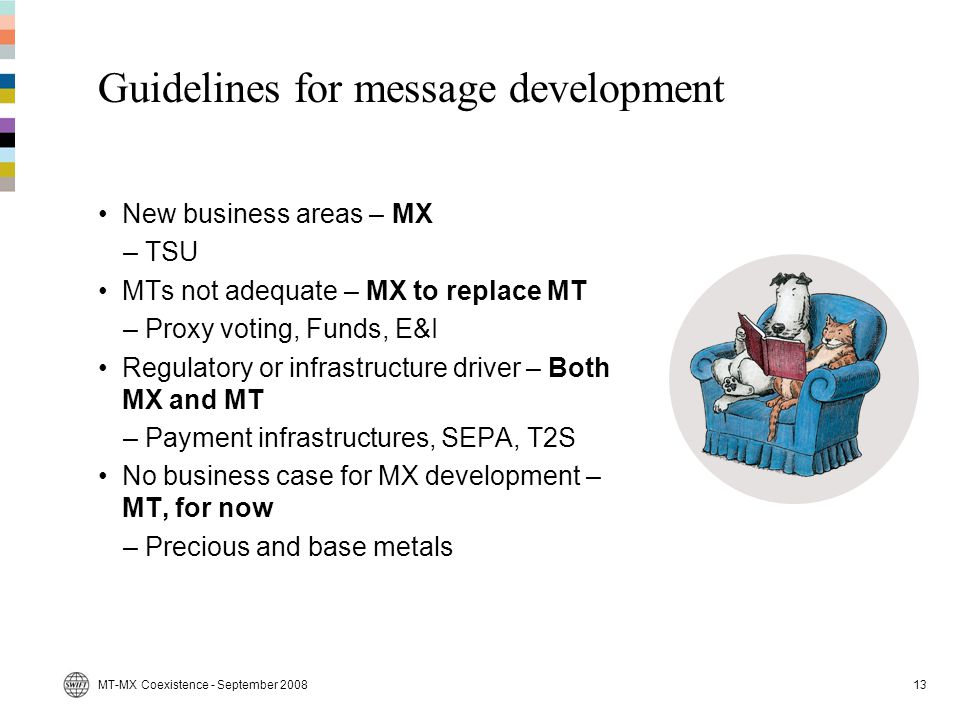 Guidelines for message development