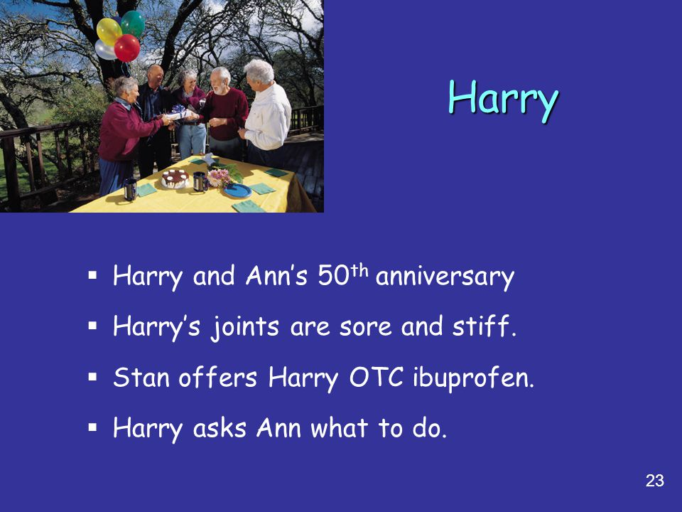 Harry Harry and Ann's 50th anniversary