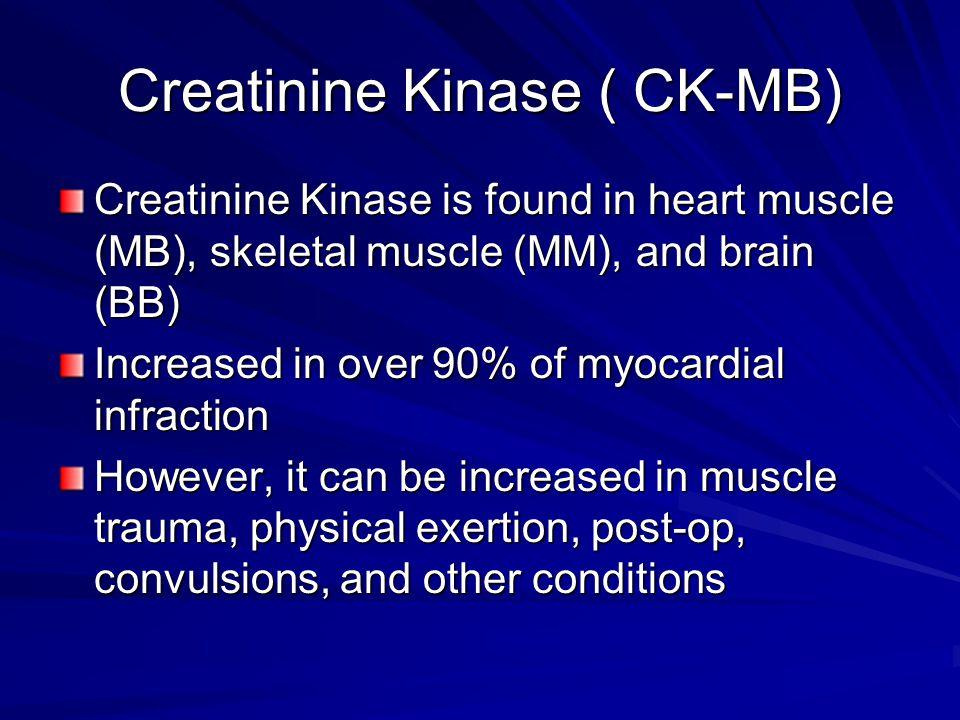 Creatinine Kinase ( CK-MB)