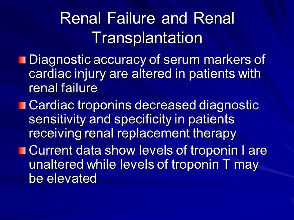 Renal Failure and Renal Transplantation