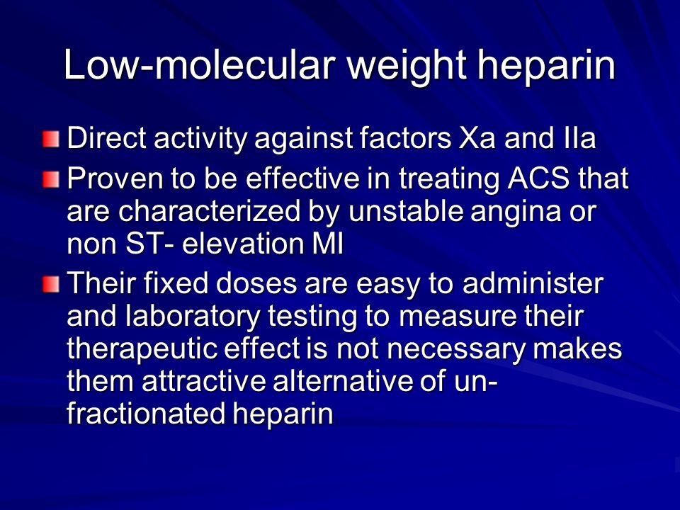 Low-molecular weight heparin