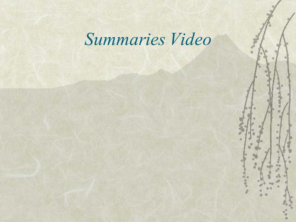 Summaries Video