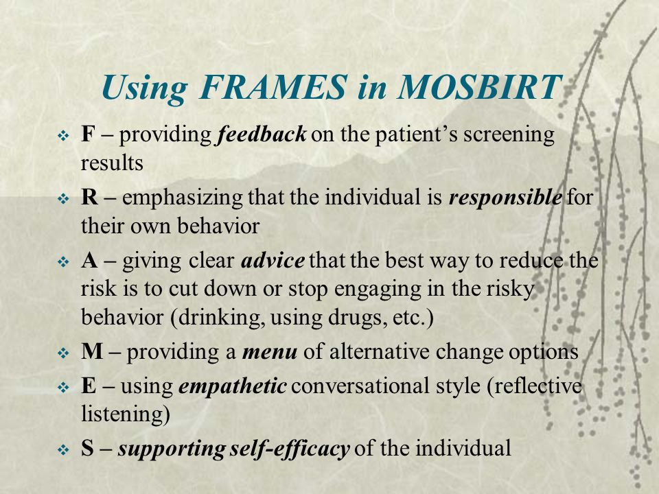 Using FRAMES in MOSBIRT