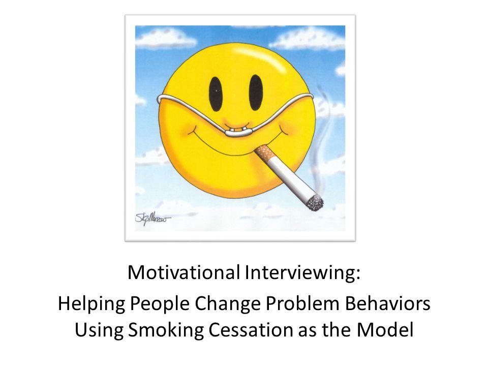 Motivational Interviewing: