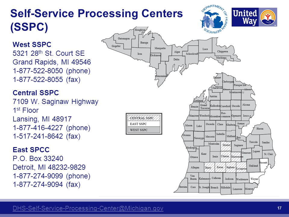 Self-Service Processing Centers (SSPC)