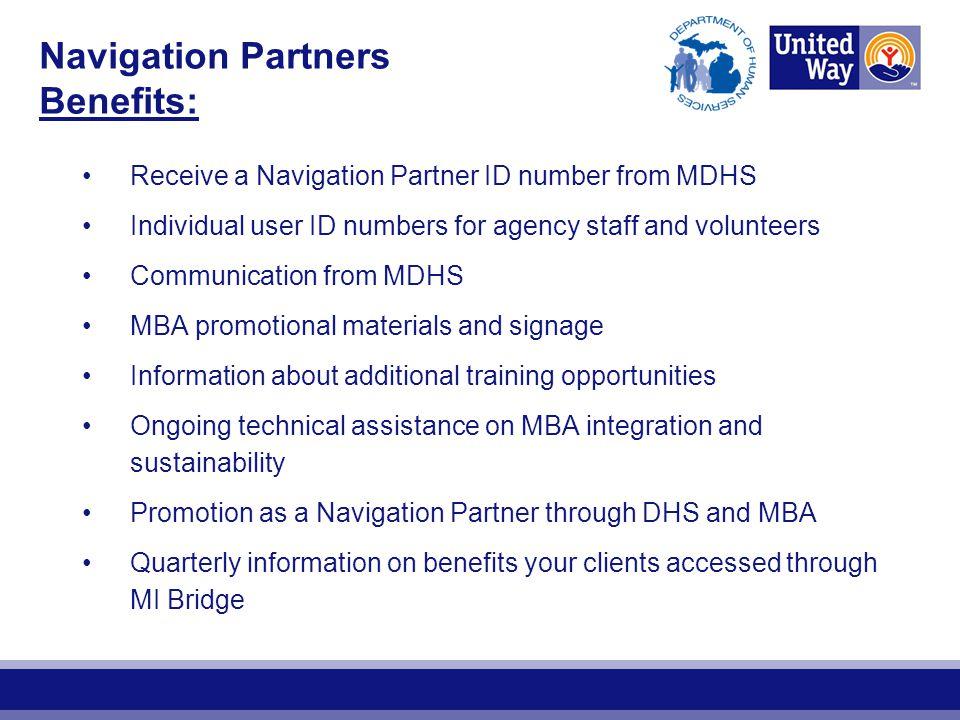 Navigation Partners Benefits: