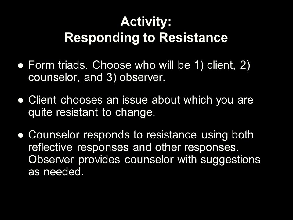 client resistance and you Synonyms for resistance at thesauruscom with free online thesaurus, antonyms, and definitions find descriptive alternatives for resistance.