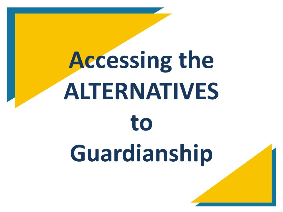 Accessing the ALTERNATIVES