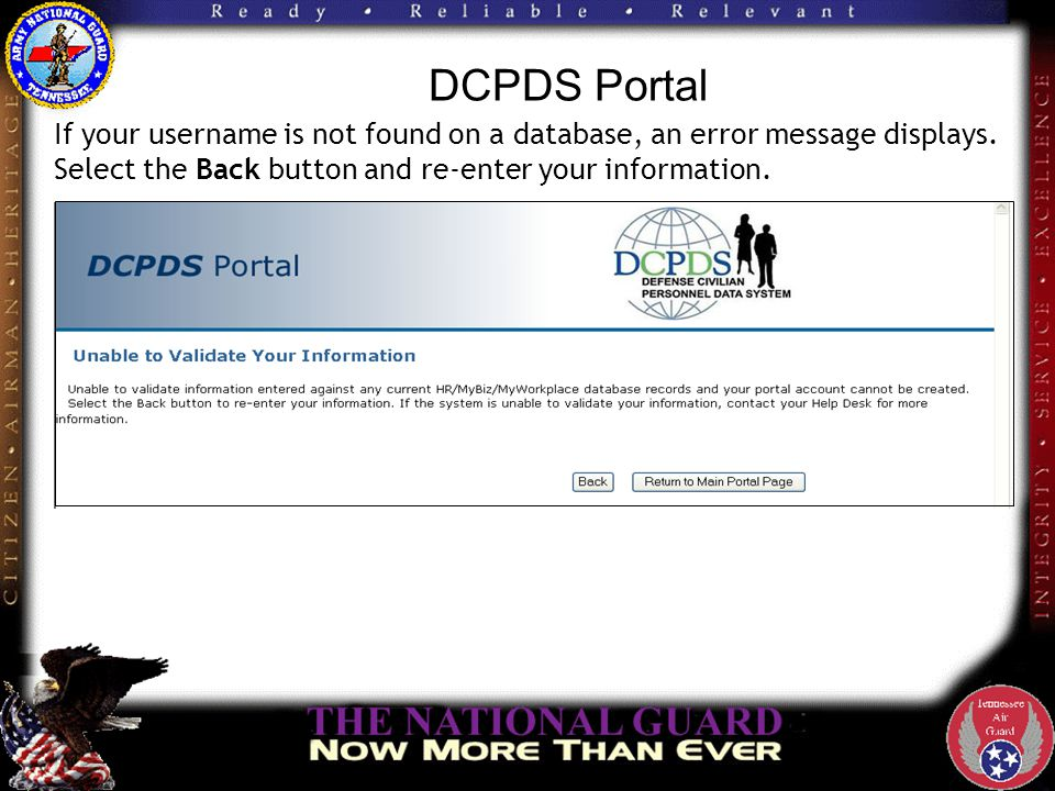 DCPDS Portal