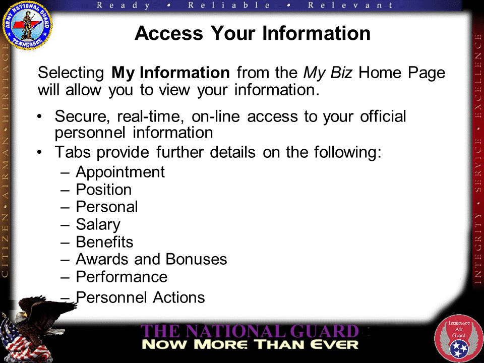 Access Your Information