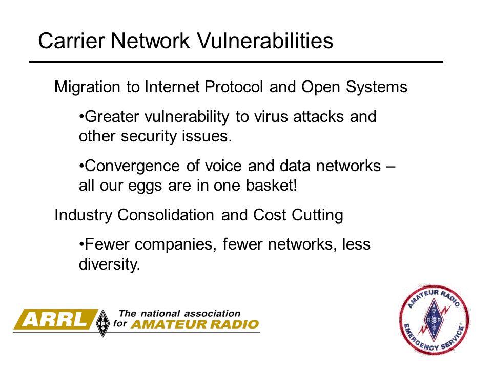 Carrier Network Vulnerabilities
