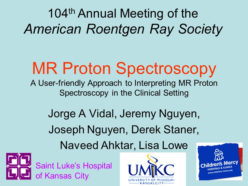 104th Annual Meeting of the American Roentgen Ray Society
