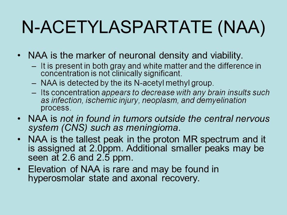 N-ACETYLASPARTATE (NAA)