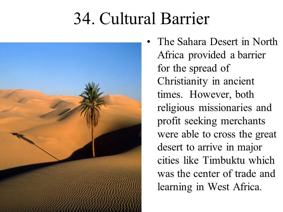 34. Cultural Barrier