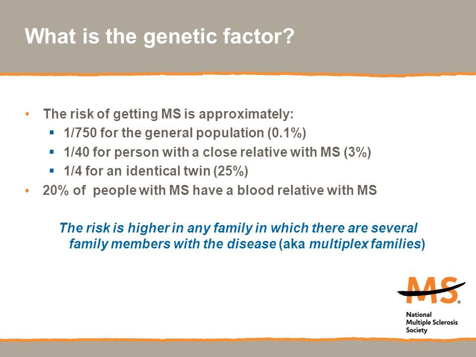 What is the genetic factor