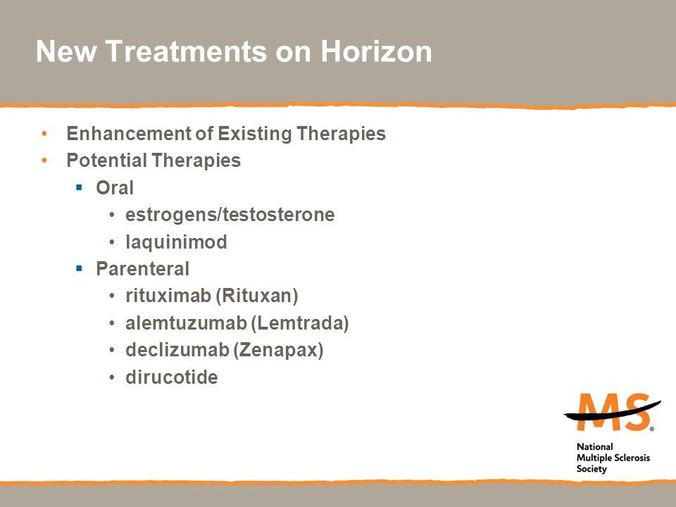 New Treatments on Horizon