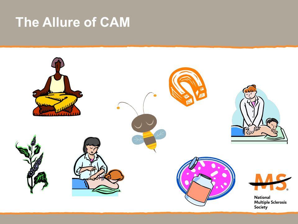 The Allure of CAM